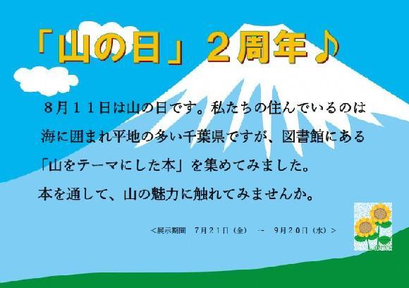 稲毛図書館「企画展示」